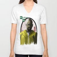 breaking bad V-neck T-shirts featuring breaking bad by Dan Solo Galleries