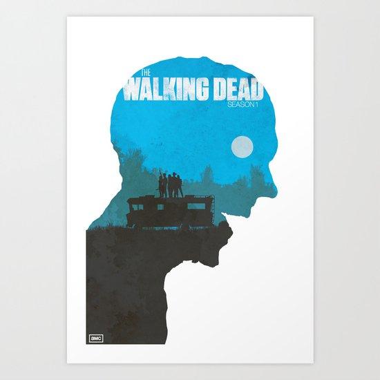 Walking dead season 1 poster
