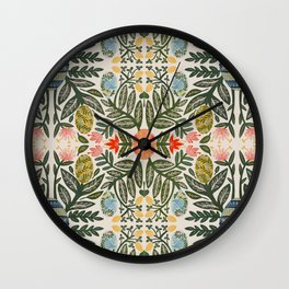 Pyansky Egg Plant Wall Clock