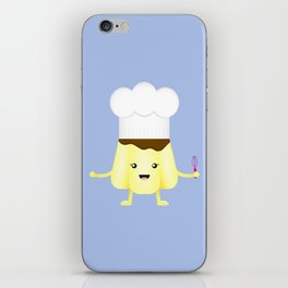 The Pudding Chef iPhone Skin