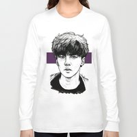 exo Long Sleeve T-shirts featuring Sehun EXO Exodus by fabisart