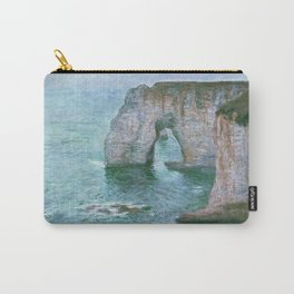 Claude Monet, French, 1840-1926 Manne-Porte, Etretat Carry-All Pouch