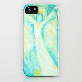 Melusina The Water Moon Goddess iPhone Case