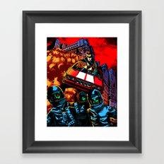 Devil Planet Framed Art Print