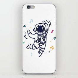 Cheerful Dance iPhone Skin