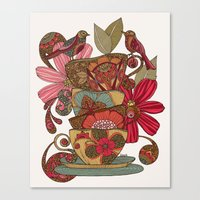 good morning Canvas Prints featuring Good Morning by Valentina Harper