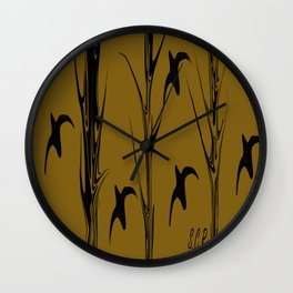 Persevere By Saribelle Rodriguez Wall Clock
