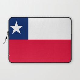 Chile flag Laptop Sleeve