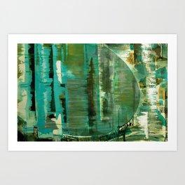 Barriers Art Print