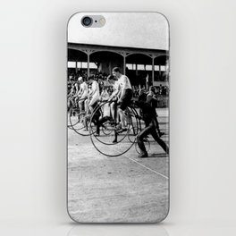 Bicycle race iPhone Skin