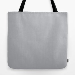 Gray Day - Solid Color Collection Tote Bag