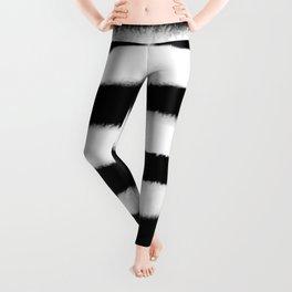 Watercolour Stripes Leggings