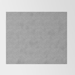 Combo light grey abstract pattern . Throw Blanket