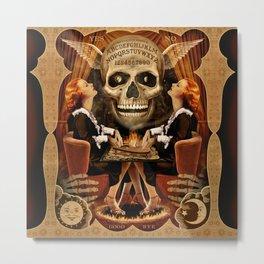 Ouija Twins Metal Print