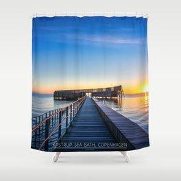 Kastrup Sea Bath, Copenhagen Shower Curtain