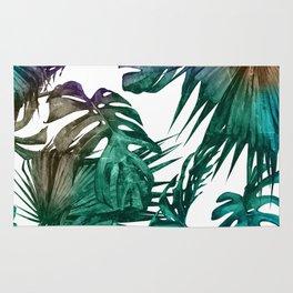 Tropics Tropical Jungle Island Pattern Rug