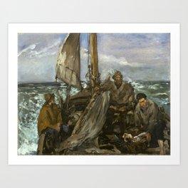 Edouard Manet - The Toilers of the Sea Art Print