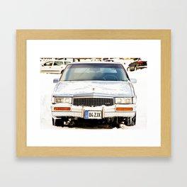 Caddilac Framed Art Print