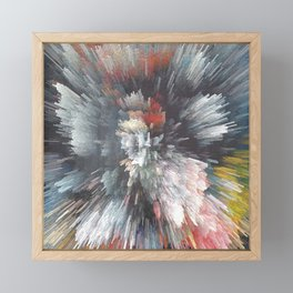Abstract night Framed Mini Art Print