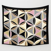 quilt Wall Tapestries featuring quilt 2015 by Ariadne