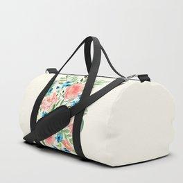 Watercolor Peonies Duffle Bag