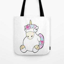 Unicornio gordo Tote Bag