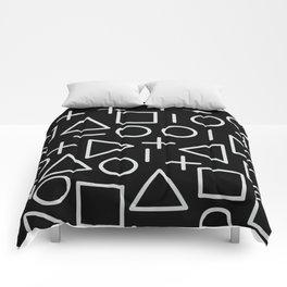 Memphis pattern 67 Comforters