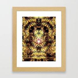 DMT Shaman Visions Framed Art Print