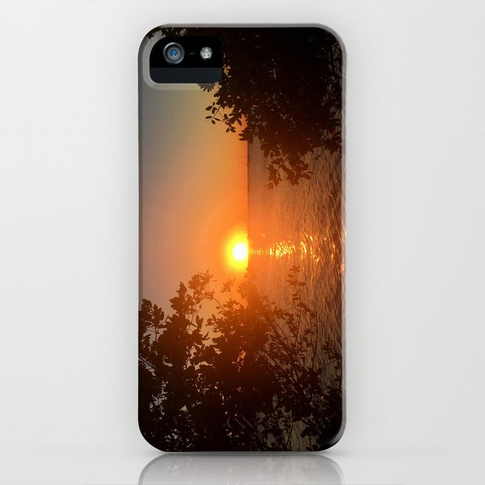 Sunset from the Florida Bank iPhone Case
