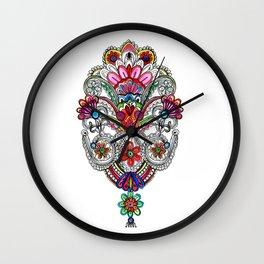 Rangoli Wall Clock