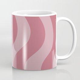 Bacon Waves - soft red Coffee Mug