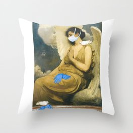 Sisters of Mercy Throw Pillow