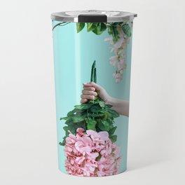 1992 Floral Episodes (Aqua) Travel Mug