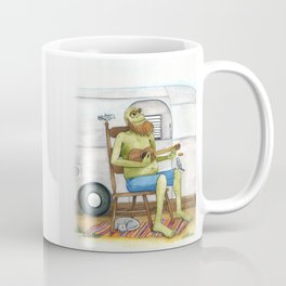 Ukulele Monster Coffee Mug