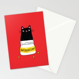 FUR ANTIDEPRESSANT Stationery Cards