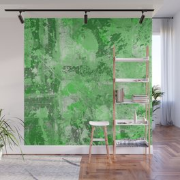 Abstract 16 - Study In Green Wall Mural
