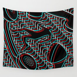 Telefonophobia Wall Tapestry