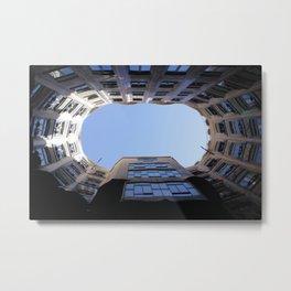 Barcelona Photography - Casa Mila La Pedrera Metal Print