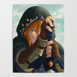 Link botw Artwork Poster