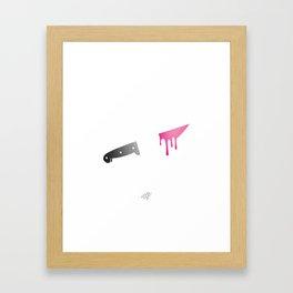 Sweet Revenge Framed Art Print
