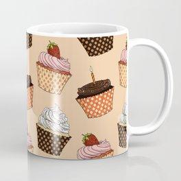Cupcake Pattern Coffee Mug