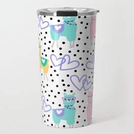 Cute Lama Travel Mug