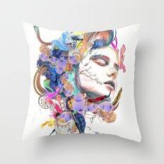 Through Throw Pillow