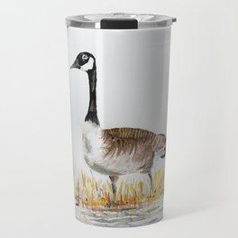 Bernache du Canada (Canada Goose) Travel Mug