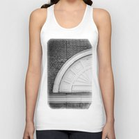 theatre Tank Tops featuring Theatre in a Wall by cinema4design