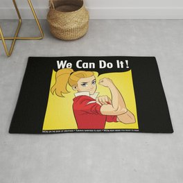 Adora Says We Can Do It Rug