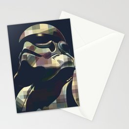 Star War | Storm Trooper Color Square * Movies Inspiration Stationery Cards