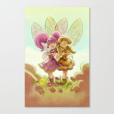 Goblins Drool, Fairies Rule! - P.B. and Jelly Canvas Print