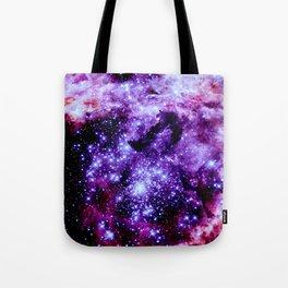 galaXy. Stars Purple Pink Nebula Tote Bag
