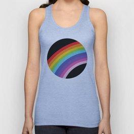 Circular Rainbow Unisex Tank Top